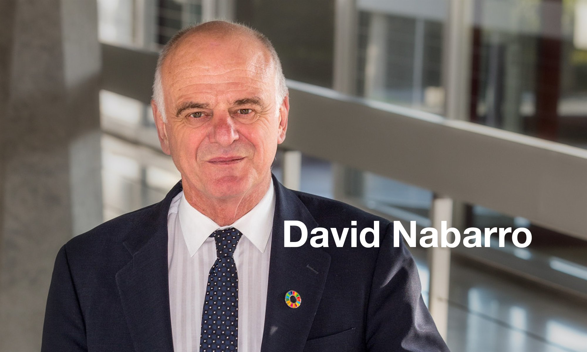 Portrait of David Nabarro
